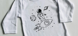 Let's go to space sweater