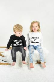 Santa is my homeboy sweater