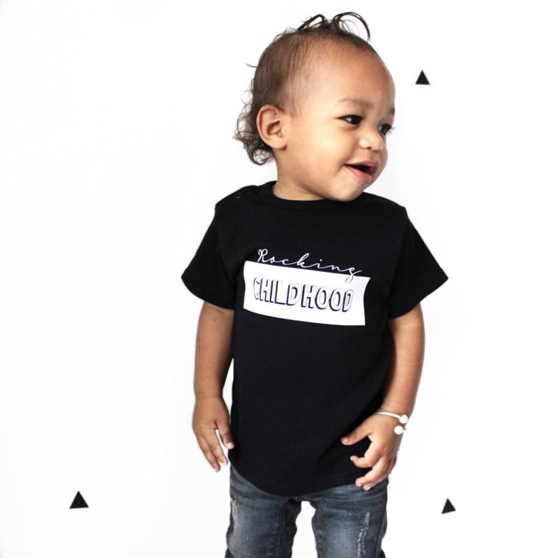 Rocking childhood shirt