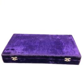Bijzonder schaakspel van hout 40x40 cm