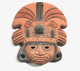 Aztec mask 22cm stone