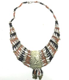 Cleopatra necklace Nile clay