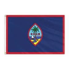Flag GUAM ca.150x90cm polyester
