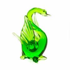 Handgemaakte zwaan van glas