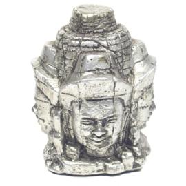 Boeddha 4faces polystone 18cm