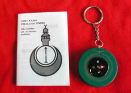 Qiblah Pack Mini book and compass 4cm