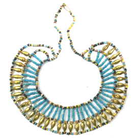 Cleopatra necklace , Nile clay