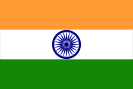 Flag India ca.150x90cm polyester