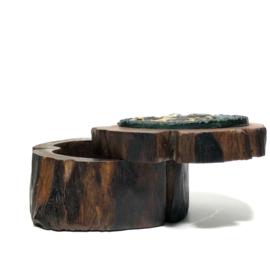 Sieradendoosje hout