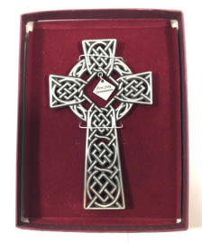 Pewter celtic cross 13cm