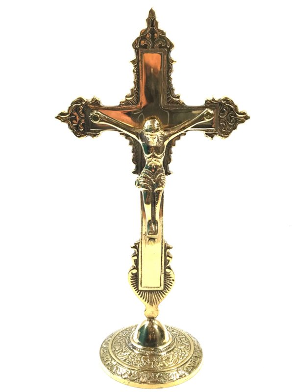 Brass Crusifix
