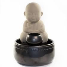Boeddha met kom 30cm keramiek