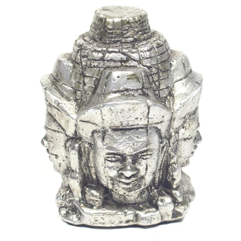 Brahma 4 faces, polystone 15x9cm