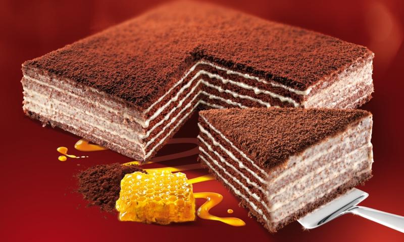 Honingtaart cacao 800g