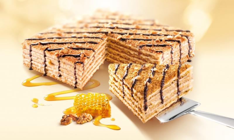 Honingtaart walnoten 800g