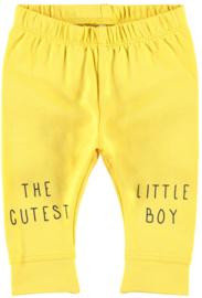 Name It Legging Yellow Little Boy