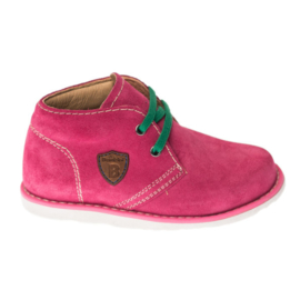 Bambini Prinses Roze Suede