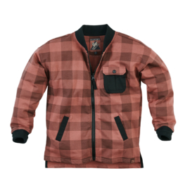 Z8 Blouse SJAKIE Red rust/Check