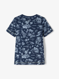 Name It Shirt FAPPO Dark Blue