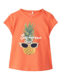 Name It TShirt Ananas Orange