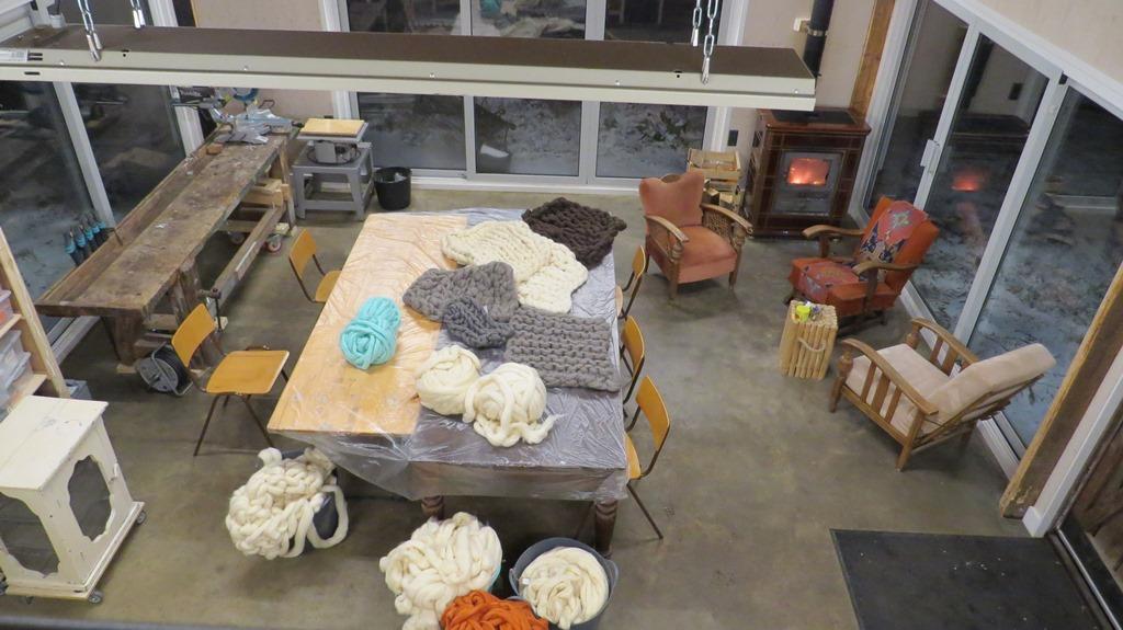 Workshop XXL woondeken in Atelier de Kopstoof - www.dekopstoof.nl
