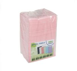 Table Towels/ Tafel Doekjes Roze 125stuks