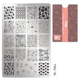 Moyra Stamping Plate 55 Fall