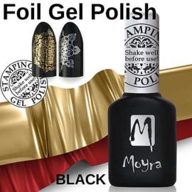 Moyra Foil Polish For Stamping fp01 Black