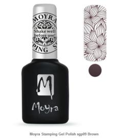 Moyra Stamping Gel Polish 09 Brown