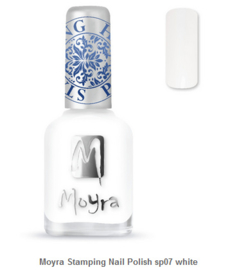 Moyra Stamping Nail Polish sp07 white