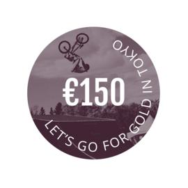 €150,- donatie