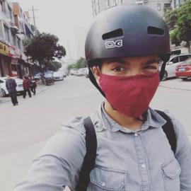 Met een smog-masker en rijstkoker naar China