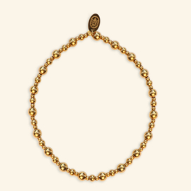 Refined Gold armband