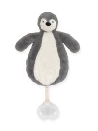 Speendoekje Pinguin storm grey