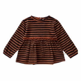 Stripes| pleated top