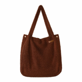 Boucle | Mommy Tote Bag - Warm brown