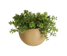 Wall plant pot - Globe - matt sand