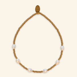 Pearl Party armband