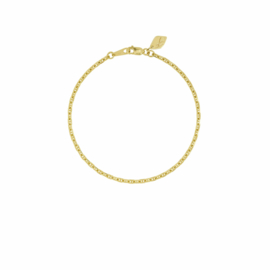 Hooked Chain Bracelet – Gold Plated