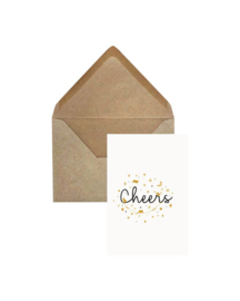 Elephant Grass Greeting Card - Cheers