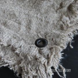 Shabby linnen doek met zeiloog