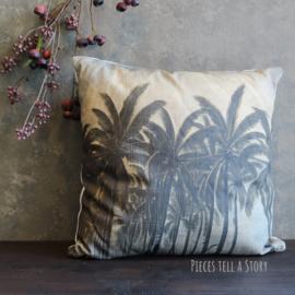 Kussen met palmbomen