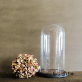 Glazen stolp met mandala