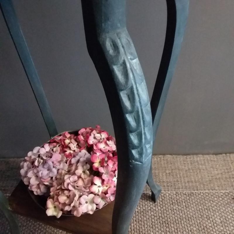 Unieke gerestylede plantentafel/piëdestal