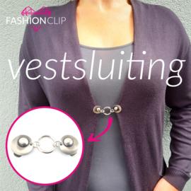Vestsluiting  - The Round Silver