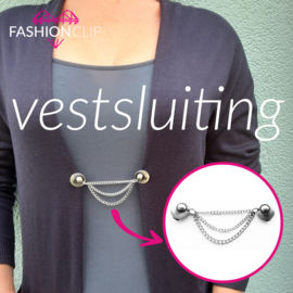 Vestsluiting - The  Eye 3 kettingen