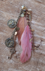 Decoratieve Fashionclip -  The Copper Coins
