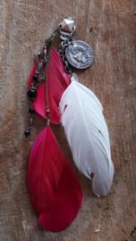Decoratieve Fashionclip  - The Sweet Ibiza Feather