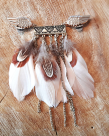 Decoratieve Fashionclip  - The Sweet Ibiza Feather