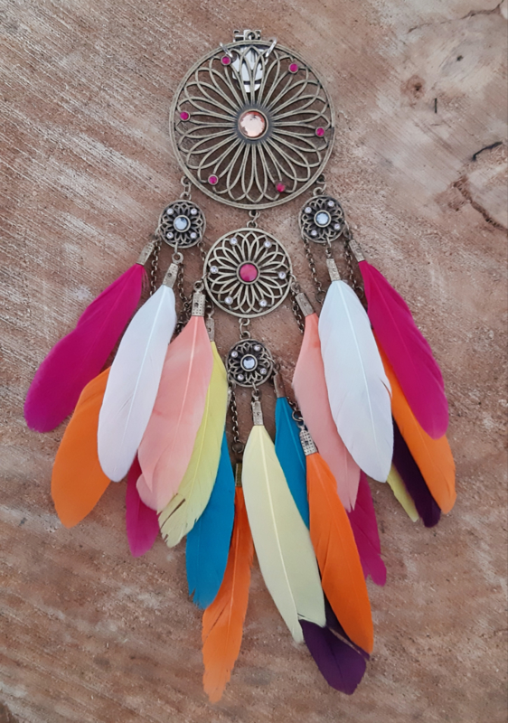 Decoratieve Fashionclip – Indian Dream
